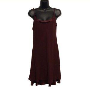 A.J. Bari Dresses - A.J. Bari for Lord & Taylor 1980's Silk Slip Dress